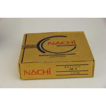 NEW NACHI BEARINGS SET OF TWO 6000-2NSE9C3